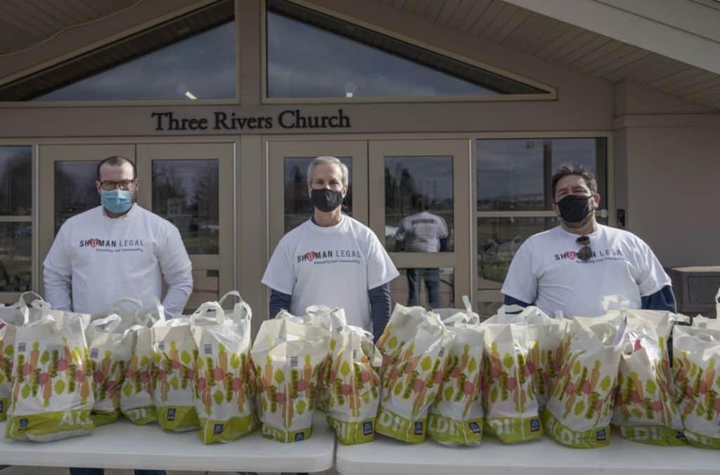 Shuman Legal Holiday Food Giveaway