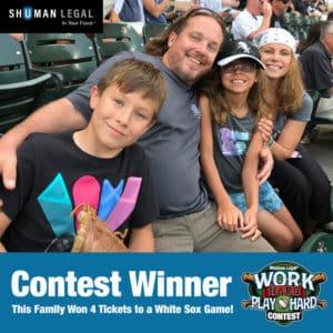 Work Hard Play Hard Contest Winner